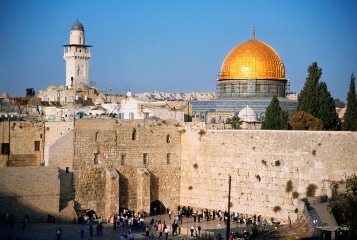 Familiar view of the old Jerusalem skyline